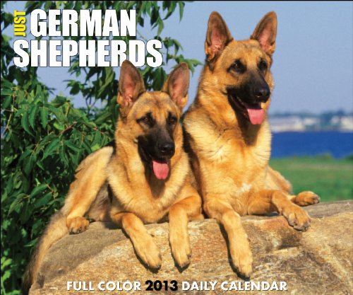 Just German Shepherds 2013 Box Calendar