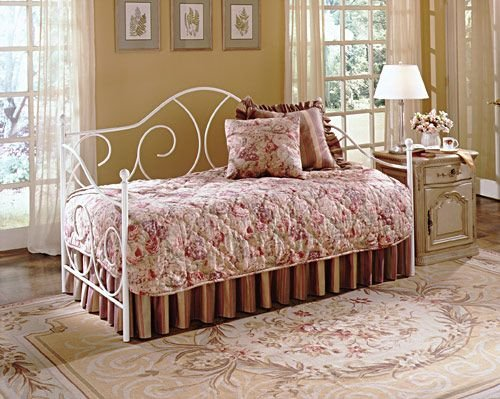 Twin Iron Bed Frame 4272 front