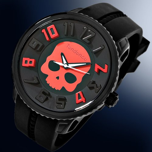 Tendence Hydrogen Skull Watch