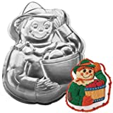 Wilton Scarecrow Fall Autumn Thanksgiving / Halloween Witch / Gardener Cake Pan (2105-2001, 1998) Retired