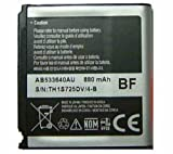 SAMSUNG BATTERY AB533640AU / AB533640AE FOR SAMSUNG SGH-F330 SGH-G400 Soul SGH-G600 SGH-J400 S3600 SGH-P860 Li-Ion