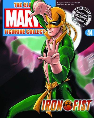 Classic Marvel Figurine Collection Magazine #44 Iron Fist (Iron Fist Magazine compare prices)