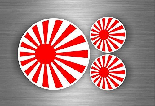3x-Autocollant-sticker-voiture-moto-tuning-jdm-bomb-drapeau-japon-rising-sun