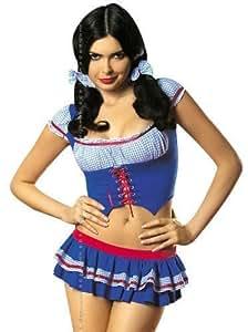 Amazon.com: Obsessive Heidi Costume,Size S/M,Blue by: Health