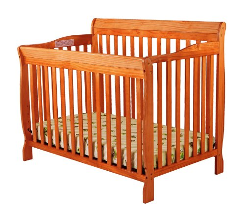 Dream On Me Ashton Convertible 4 In 1 Crib Pecan Cheap