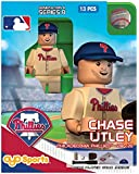 MLB Philadelphia Phillies Chase Utley Generation 4 Mini Figure, Small, Black