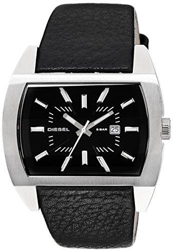 Diesel DZ1116 DZ1116 - Reloj de mujer de cuarzo, correa de piel color negro