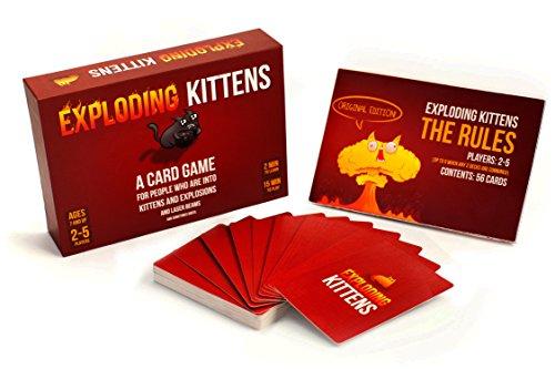 Exploding Kittens: Original Edition (Originalausgabe) - Englische Version von Exploding Kittens LLC