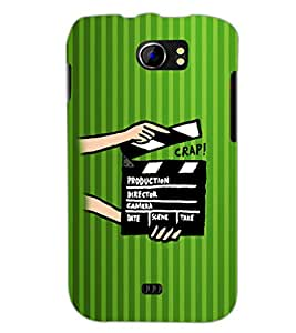 PrintDhaba Shot Takes D-2607 Back Case Cover for MICROMAX A110Q CANVAS 2 PLUS (Multi-Coloured)