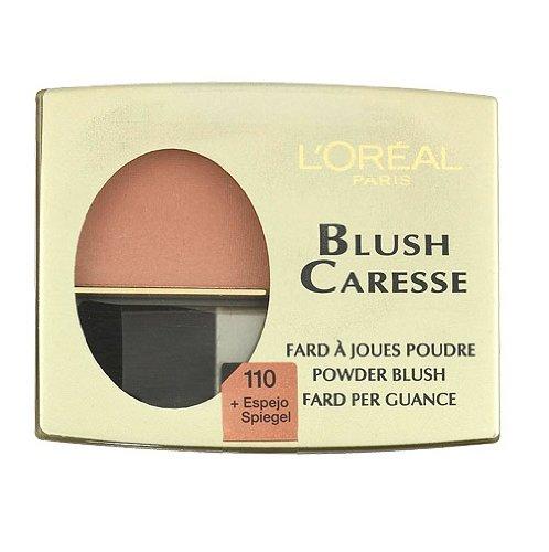 Loreal, Fard Caresse, Fard con specchietto, colore: 110 Peach