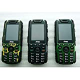 Cheap Rugged Outdoor Mobile Phone Jeep X7 Military Phone Shockproof Long Standby Language