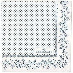 GreenGate Papierservietten - Paper Napkin - Audrey Indigo Small 20 stck