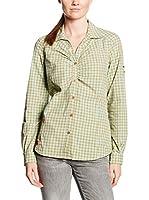 Salewa Camisa Mujer Pordoi Dry W (Verde / Blanco)