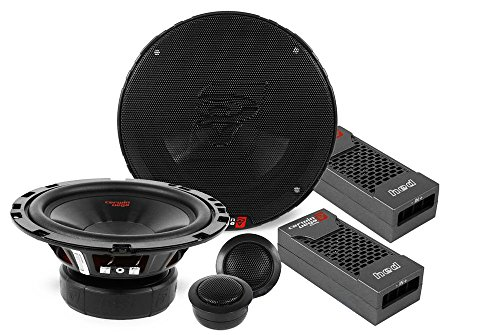 "Cerwin Vega H465C Hed 6.5"" 2-Way Component L Speaker Set - 360W Max / 50W Rms Power Handling"