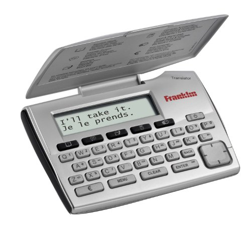 Franklin Electronics ET-2105 Franklin 5 Language European Translator (Electronic Italian Dictionary compare prices)