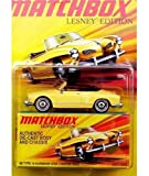 Matchbox 2010 Lesney Edition '69 Type 14 Karmann Ghia Convertible, 1:64 Scale.