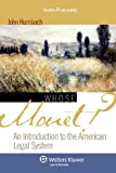 img - for Whose Monet?: An Introduction to the American Legal System (Introduction to Law Series) book / textbook / text book
