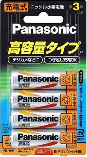 ニッケル水素電池単3形4本パック HHR-3XPS/4B
