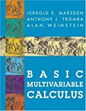 Basic Multivariable Calculus (038797976X) by Marsden, Jerrold E.