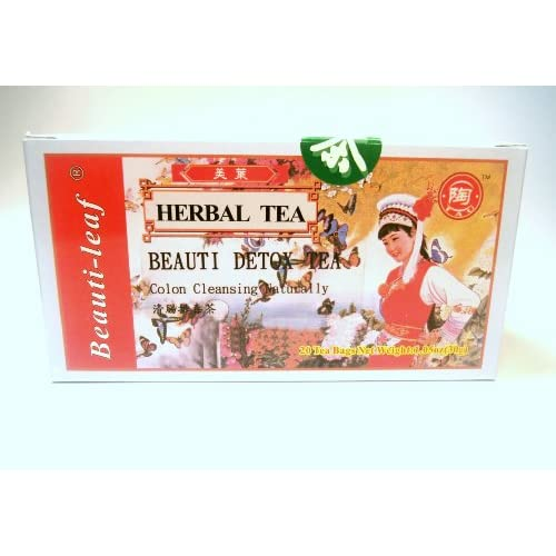 Amazon.com: Detox Tea - Colon Cleansing Naturally 20 Tea Bags ...