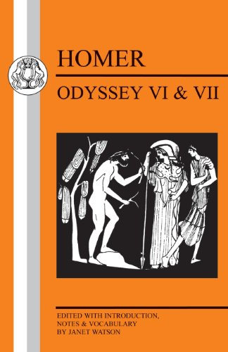 Homer: Odyssey VI and VII (Bristol Classical Press Greek Texts) (Bk. VI and VII)