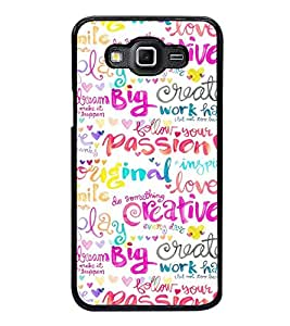 Fuson Premium 2D Back Case Cover Passion With Multi Background Degined For Samsung Galaxy E7::Samsung Galaxy E7 E700F