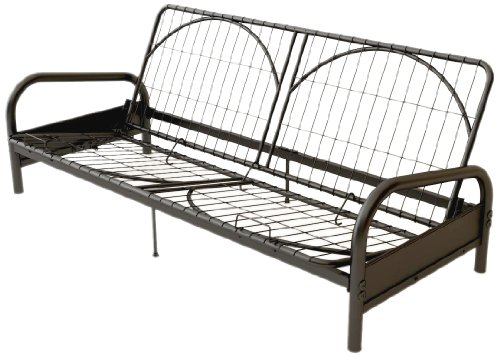 Find Cheap Dorel Home Products Vermont Metal Futon Frame, Black