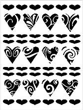 Joggles Stencil 9quotX12quot-Hearts39 Delight
