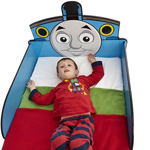 Thomas le Train 865167 Design Lit Bois Bleu 145 x 77 x 59 cm