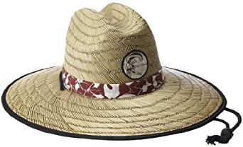 Jack O'Neill Men's Code Red Straw Hat, Natural, One Size