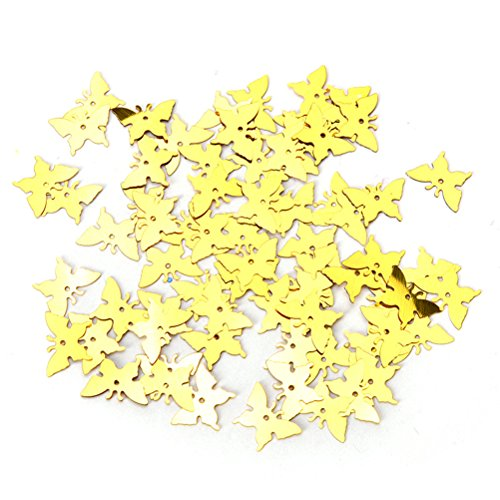 Happu-store(TM) 350 Pcs/lot Butterfly Confetti Love Wedding Party Romantic Table Decoration