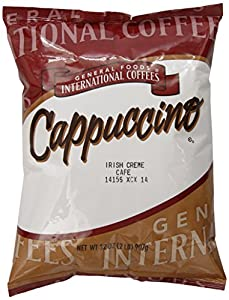 General Foods International Coffees Irish Cream Cappuccino Mix, 32-Ounce Packages (Pack of 6)