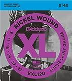 D'Addario EXL120 XL Nickel Wound Super Light  (.009-.042) Electric Guitar Strings