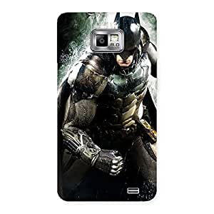 Gorgeous Knight Thrash Multicolor Back Case Cover for Galaxy S2