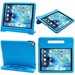 iPad Pro Case, i-Blason Apple iPad Pro Case for Kids [ArmorBox Kido Series] Light Weight Super Protection Convertible Stand Cover 2015 Release (Blue)