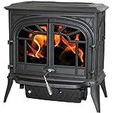 Napoleon 1600c Cast Iron Wood Burning Stove - Black