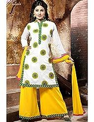 Typify Chanderi Semistitch Dress Material - B01869KSR6