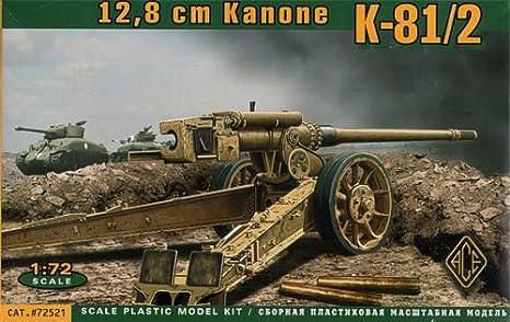 Maquette Canon K-81/2 12.8 cm, 2ème GM