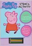 Peppa Pig Stencil Book Peppa Pig