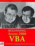 Beginning Access 2000 VBA