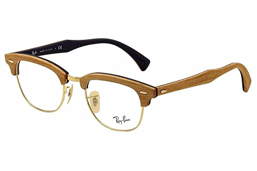 2da6c6ef2cd ray ban clubmaster eyeglasses wood ray ban clubmaster eyeglasses wood ...