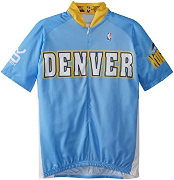 NBA Denver Nuggets Mens Cycling Jersey by VOmax