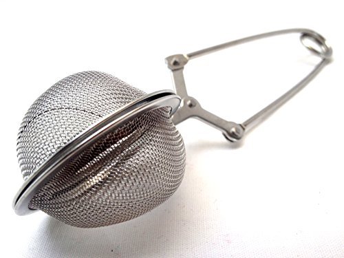 LavoHome 1.8-Inch Stainless Steel Tea Infuser Mesh Ball aladdin tea infuser