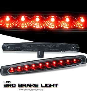CORVETTE 97-00 C5 BLACK THIRD BRAKE LIGHT-LED