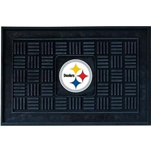 Fanmats Pittsburgh Steelers Medallion Door Mat