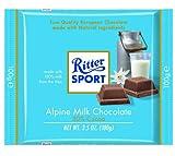Alfred Ritter: Ritter Sport Chocolate Alpine milk - 5 x 100 g