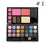 (メイクアップエーシーシー) MakeupAcc21色メイクパレット メイクブラシ チップ 鏡付き [並行輸入品] ランキングお取り寄せ