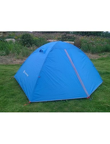 ZQ-Compass-Outdoor-2-Person-Aluminium-Pole-Waterproof-Camping-Tent