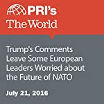 Trump's Comments Leave Some European Leaders Worried about the Future of NATO | Daniel Gross,Nadia Spock