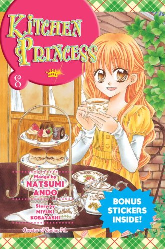 Cover of Kitchen Princess 8